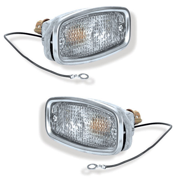 1968 Camaro Standard Parking Lamp Assemblies Pair