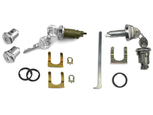 1968 Chevelle Complete Lock Kit