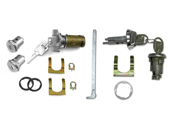 1969 Chevelle Complete Lock Kit