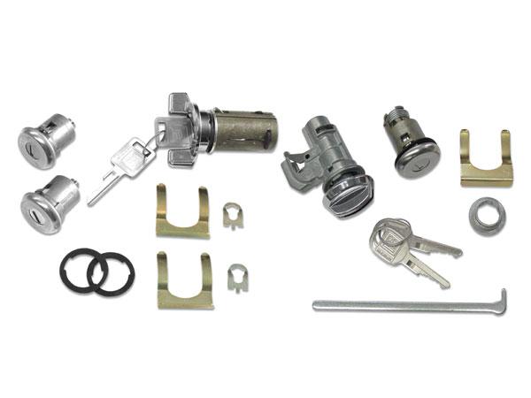 1969 Camaro Complete Lock Kit