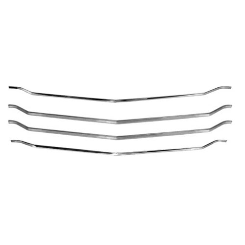 1972 El Camino Grille Molding Kit Complete