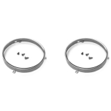 1971-1972 Chevelle Headlamp Retaining Ring and Screw Kit