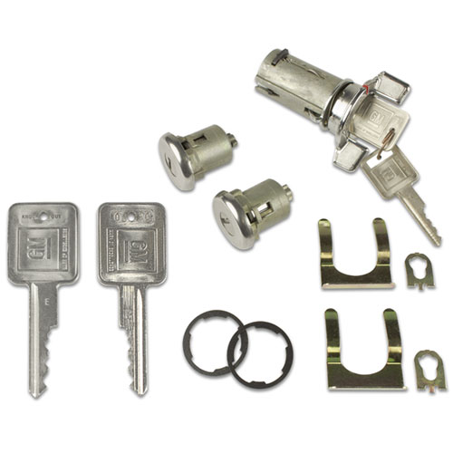 1969 Chevelle Concours Lock Set Ignition And Doors