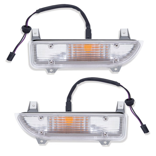 1970-1973 Camaro Standard Parking Lamp Assemblies Pair