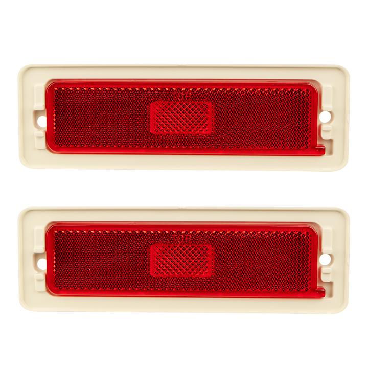 1970-1974 Nova Red Rear Side Marker Lens
