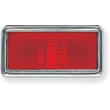 1968-1969 Nova Red Rear Side Marker Lens