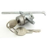1970-1973 Camaro Trunk Lock Round Keys