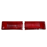 1968-1969 Nova Tail Light Lens Pair