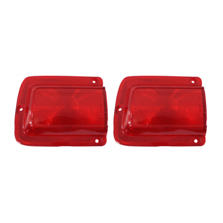 1965 Chevelle Tail Lamp Lenses without Trim