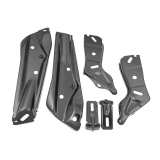 1971-1972 Chevelle Front Bumper Bracket Kit