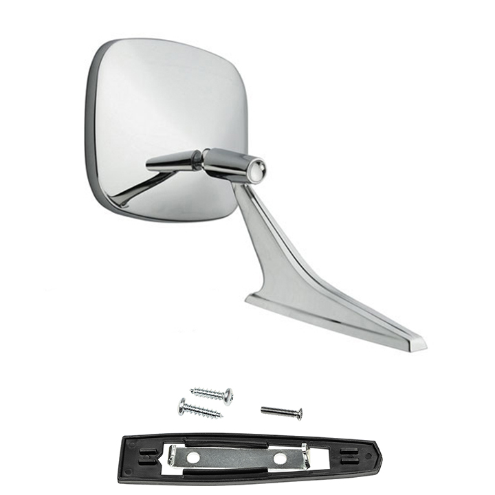 1969 Camaro Chrome Mirror Premium Quality Right Side