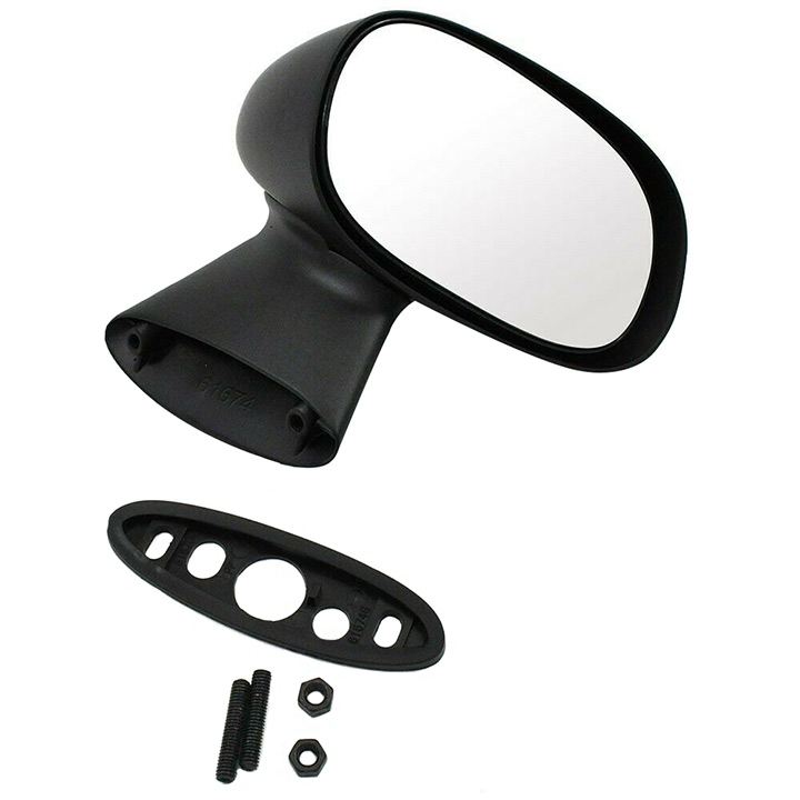 1978-1987 El Camino Side View Bullet Mirror, Right Hand Passenger Side