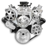 EMS S-Drive Plus Serpentine Pulley System, Remote Reservoir, Big Block, Raw Machined: MS107-13RM