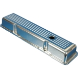1967-1981 Camaro Eddie Motorsports Short Ball Milled Small Block Valve Covers - Polished: MS108-20P