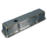1967-1981 Camaro Eddie Motorsports Tall Ball Milled Small Block Valve Covers - Gloss Black: MS108-24BK