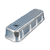 1967-1981 Camaro Eddie Motorsports Tall Ball Milled Big Block Valve Covers - Polished