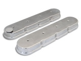 1967-2002 Camaro. Eddie Motorsports Chevy LS Cast Valve Covers, Polished: MS108-50P