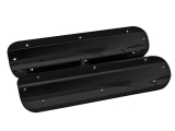 Eddie Motorsports Billet Chevy LS Coil Covers, No Oil Filler Cutout, Gloss Black Anodized