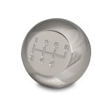 Eddie Motorsports 1967-1992 Camaro Universal 6 Speed Shifter Knob - Clear Coat: MS110-52CL