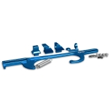 Eddie Motorsports Billet GM Throttle Cable Brackets, Holley 4500 Series Carbs - Blue: MS142-09B