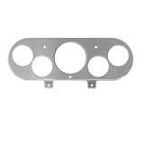Eddie Motorsports 1962-1965 Nova Smooth Billet Aluminum Gauge Panel - Machined