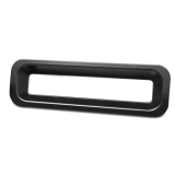 Eddie Motorsports 1967 Chevrolet RS Billet Tail Light Bezels, Gloss Black Anodized Finish