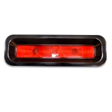 Eddie Motorsports 1967 Camaro RS Billet LED Tail Light Kit, Gloss Black Anodized Finish