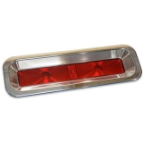 Eddie Motorsports 1967 Camaro RS Billet LED Tail Light Kit, Clear Anodized Finish