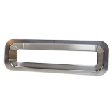 Eddie Motorsports 1967 Chevrolet RS Billet Tail Light Bezels, Clear Anodized Finish: MS275-40CA