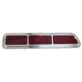 Eddie Motorsports 1969 Camaro Standard Billet Tail Light Kit, Machined Finish