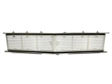 Eddie Motorsports 1967-1968 Camaro Billet Grille Kit, No Logo, Gloss Black Anodized