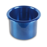 Eddie Motorsports Small Billet Drink Holder - Blue: MS281-45B