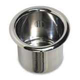 Eddie Motorsports Small Billet Drink Holder - Polished: MS281-45P