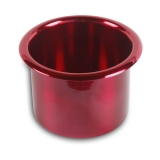 Eddie Motorsports Small Billet Drink Holder - Red: MS281-45R