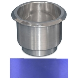 Eddie Motorsports Large Billet Drink Holder - Blue