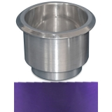 Eddie Motorsports Large Billet Drink Holder - Purple