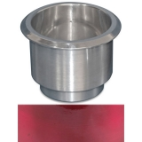 Eddie Motorsports Large Billet Drink Holder - Red