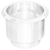 Eddie Motorsports Large Billet Drink Holder - White