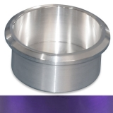 Eddie Motorsports Short Small Billet Drink Holder - Purple: MS281-44PR