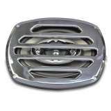 Eddie Motorsports Classic Style Billet Aluminum 6x9 Speaker Grill - Black Anodized