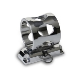 Eddie Motorsports Extinguisher Bracket for 1lb Extinguisher, Machined: MSBRK-102M