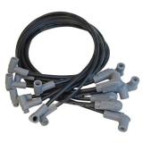 1967-2019 Camaro MSD Super Conductor Spark Plug Wire Set, 71-74 SBC w- HEI Tower Cap, Black