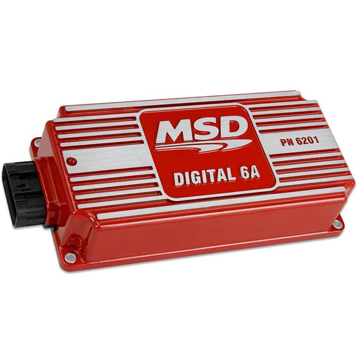 1962-1979 Nova MSD Digital 6A Ignition Control, Red: 6201