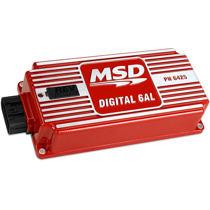 1962-1979 Nova MSD Digital 6AL Ignition Control, Red: 6425