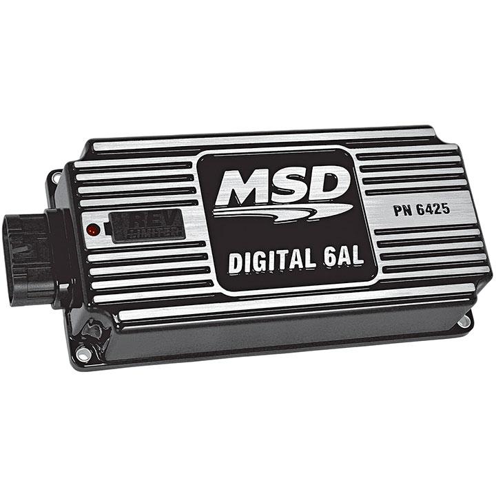 1962-1979 Nova MSD Digital 6AL Ignition Control, Black: 64253