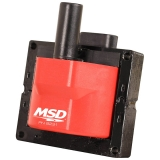 1967-2019 Camaro MSD Single Connector High Performance Ignition Coil Red: 8231