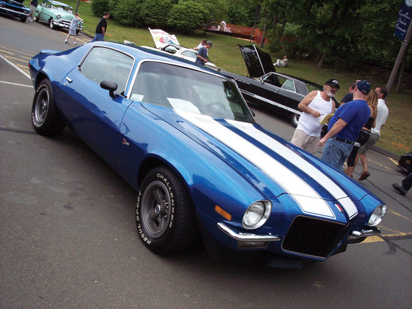 Z 28 Stripe Kit 1970 Camaro Non Rs With 1pc Low Spoiler Or