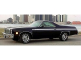 1973-1977 El Camino Super Sport Stripe Kit Black