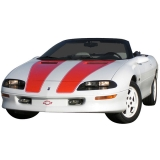 1998-2002 Camaro Convertible or T-Top Decal Kit, Silver