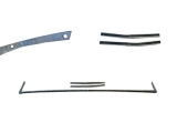 1964-1965 Chevelle 3 Piece Convertible Tack Strip Kit.